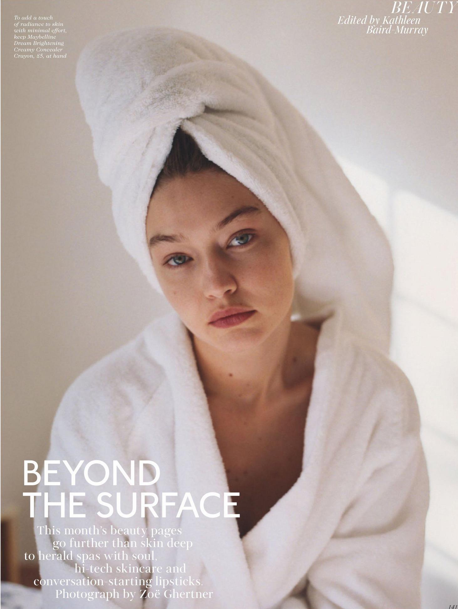 Gigi Hadid từng chia sẻ với Vogue cô thường xuyên dùng sữa rửa mặt của Tata Harper kể khi làm mẹ để đảm bảo an toàn cho em bé. Ảnh: Beauty.