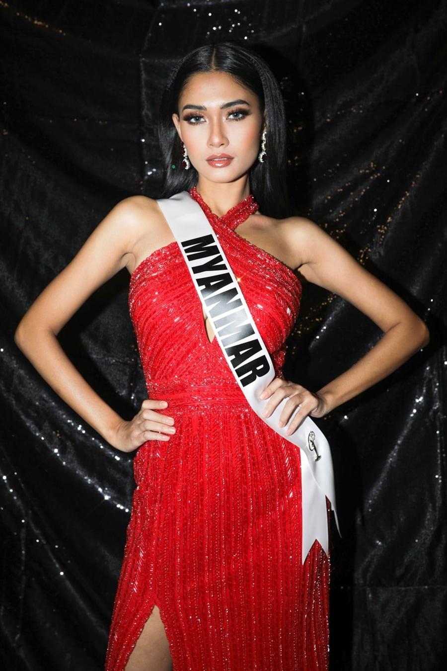 Thuzar Wint Lwi dừng chân ở Top 21. Ảnh: Miss Universe.