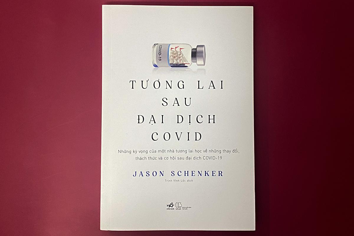 Bìa sách Tương lai sau đại dịch Covid. Ảnh: Nhã Nam.