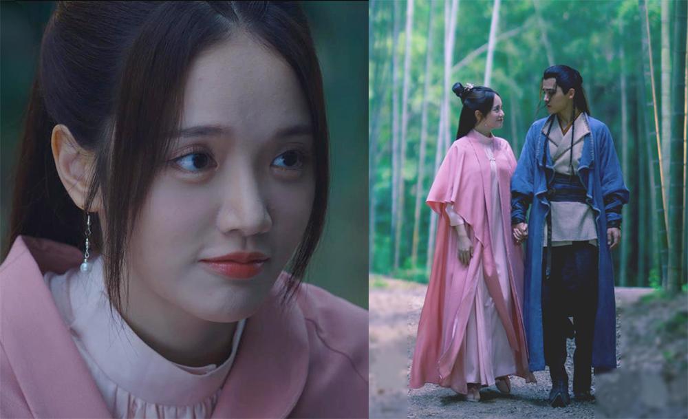 Sao Đài Loan Lâm Nghiên Nhu, 31 tuổi, đóng Hoàng Dung - nữ hiệp thông minh, tài trí hơn người, phải lòng Quách Tĩnh. Trên Weibo, nhiều khán giả nhận xét tạo hình của Nghiên Nhu quá hiện đại, không phù hợp phim kiếm hiệp. Một số người khen cô có gương mặt sáng, thông minh.