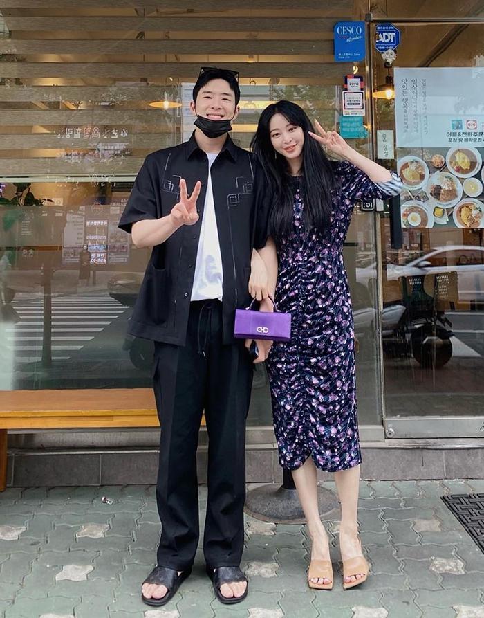 Han Ye Seul bên bạn trai kém cô 10 tuổi. Ảnh: Instagram/Hanyeseul.