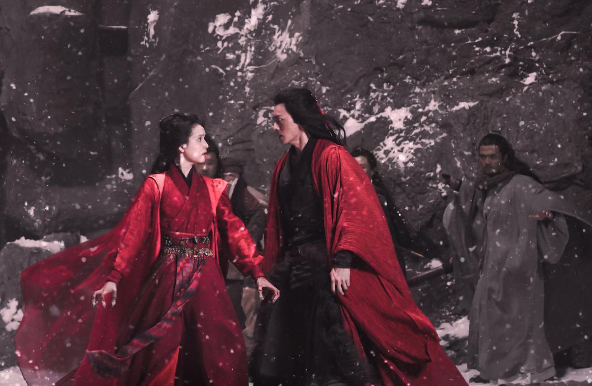 Tạo hình Mai Siêu Phong, Trần Huyền Phong (Hoàng Hi Ngạn đóng). Ảnh: QQ.
