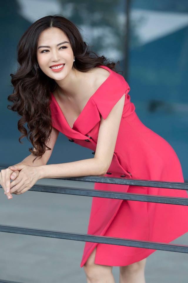 Hoa hậu Thu Thủy ở tuổi 45. Ảnh: Facebook Nguyen Thu Thuy.