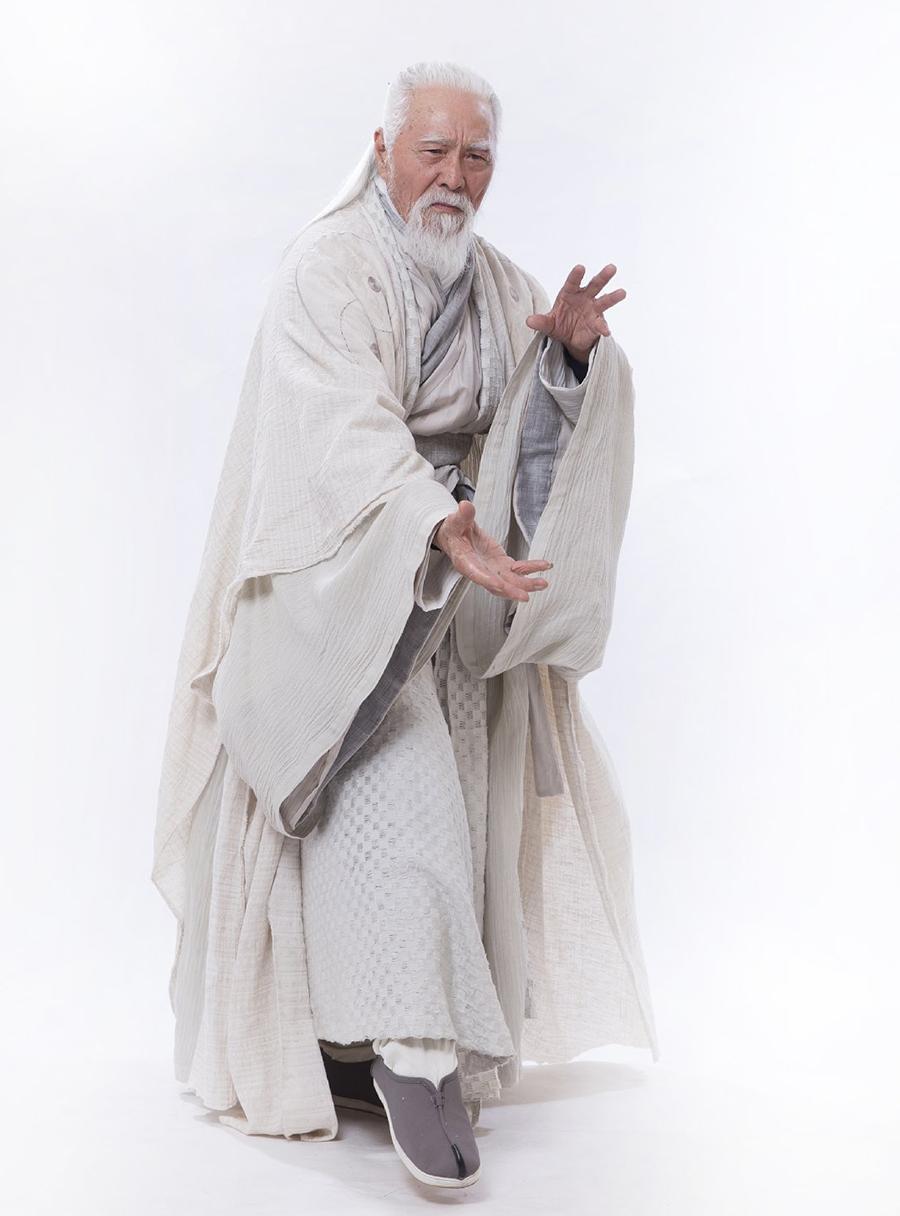 Vương Đức Thuận đóng Trương Tam Phong trong Ỷ Thiên Đồ Long Ký 2019. Ảnh: Iqiyi.
