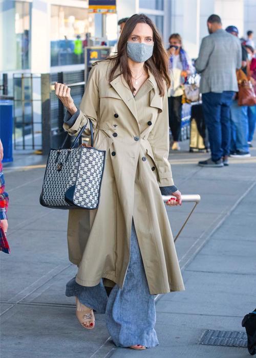 Angelina Jolie tròn 46 tuổi hôm 4/6. Ảnh: Splashnews.
