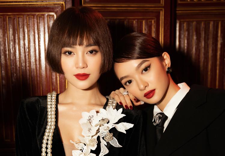 Lan Ngọc (trái) có cảnh đối đầu đàn em Kaity Nguyễn khi trở lại series Gái già lắm chiêu. Ảnh: Mar6.