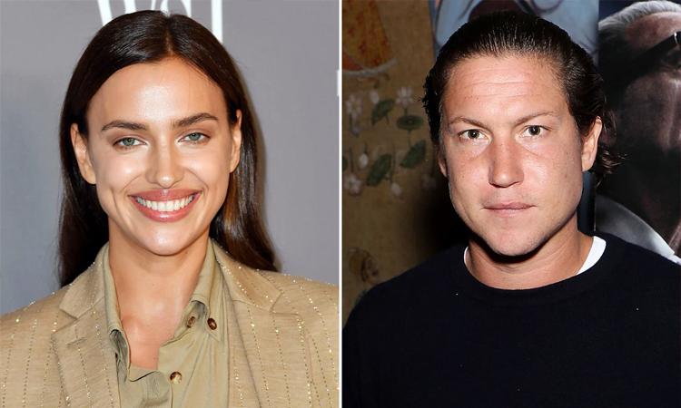 Theo US Weekly, Irina Shayk hẹn hò Vito Schnabel, chủ một phòng triển lãm tranh tại Thụy Sỹ hồi tháng 3/2020.