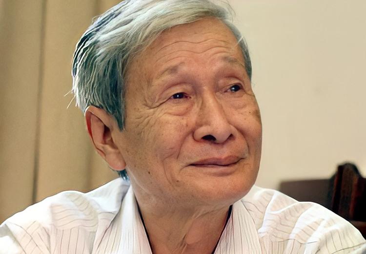 Nhà văn Nguyễn Xuân Khánh (1933 - 2021). Ảnh: Hội nhà văn Hà Nội.