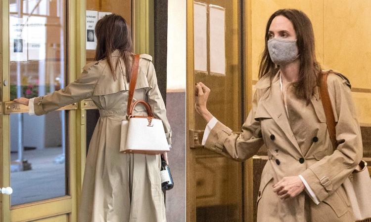 Angelina Jolie đến nhà chồng cũ