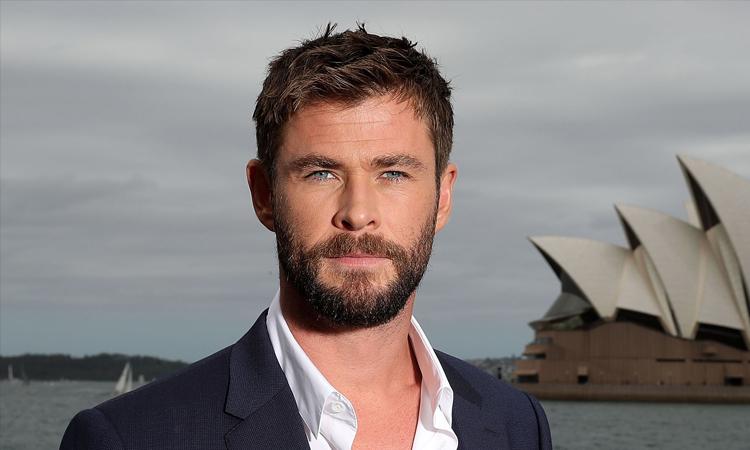 Tài tử Chris Hemsworth. Ảnh: CNN.