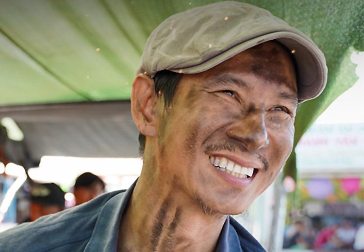 Lý Hải trên phim trường Lật mặt 5. Ảnh: Lê Tuấn.