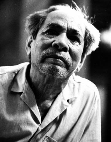 Nhà thơ Tế Hanh. Ảnh: Nguyễn Đình Toán.