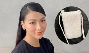 Phương Khánh làm túi đựng điện thoại
