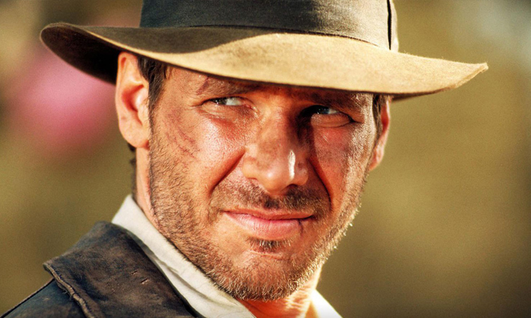 Harrison Ford trong vai Indiana Jones