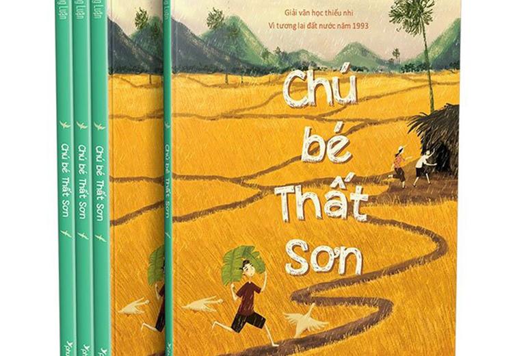 Chú bé Thất Sơn tái bản 88 trang in màu và hình minh họa