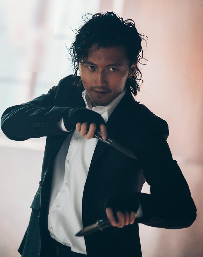 Tạ Đình Phong đóng vai phản diện trong Nộ hỏa. Ảnh: Sina.