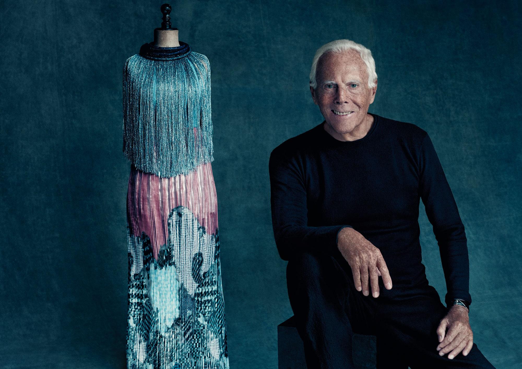 Giorgio Armani - ông hoàng thời trang thảm đỏ - VnExpress Giải trí