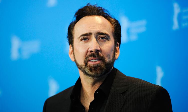 Tài tử Nicolas Cage. Ảnh: Hello Magazine.