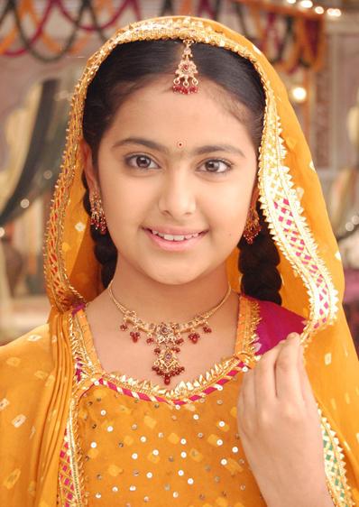 Avika Gor đóng vai Anandi trong 500 tập đầu của Cô dâu tám tuổi. Ảnh: Indian Express.