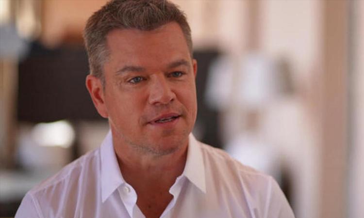 Matt Damon trả lời phỏng vấn trên truyền hình hôm 19/7. Ảnh: CBS.