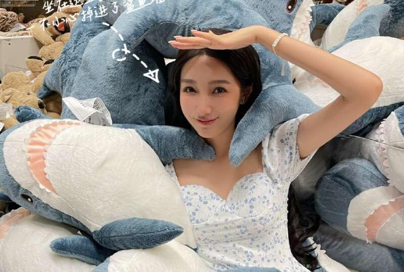 Nữ sinh Đô Mỹ Trúc. Ảnh: Weibo/Dumeizhu.