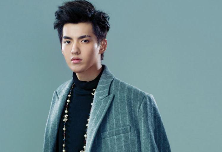 Ca sĩ kiêm diễn viên Ngô Diệc Phàm. Ảnh: Sina.