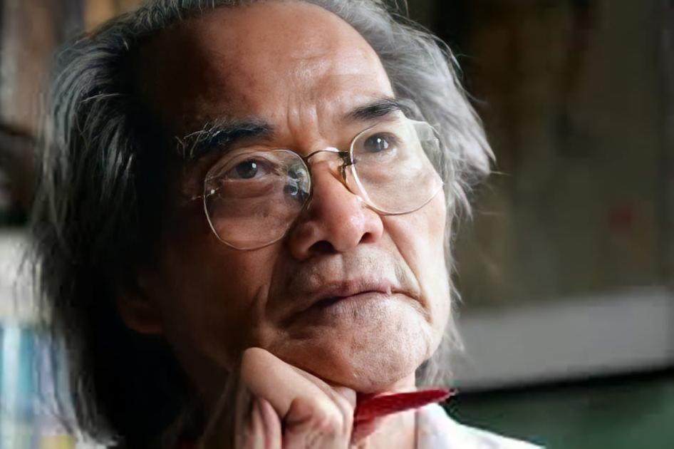 Nhà văn Sơn Tùng. Ảnh: Nguyễn Đình Toán.