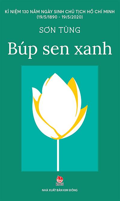 Bìa sách Búp sen xanh, bản ra mắt năm 2020. Ảnh: Kim Đồng.