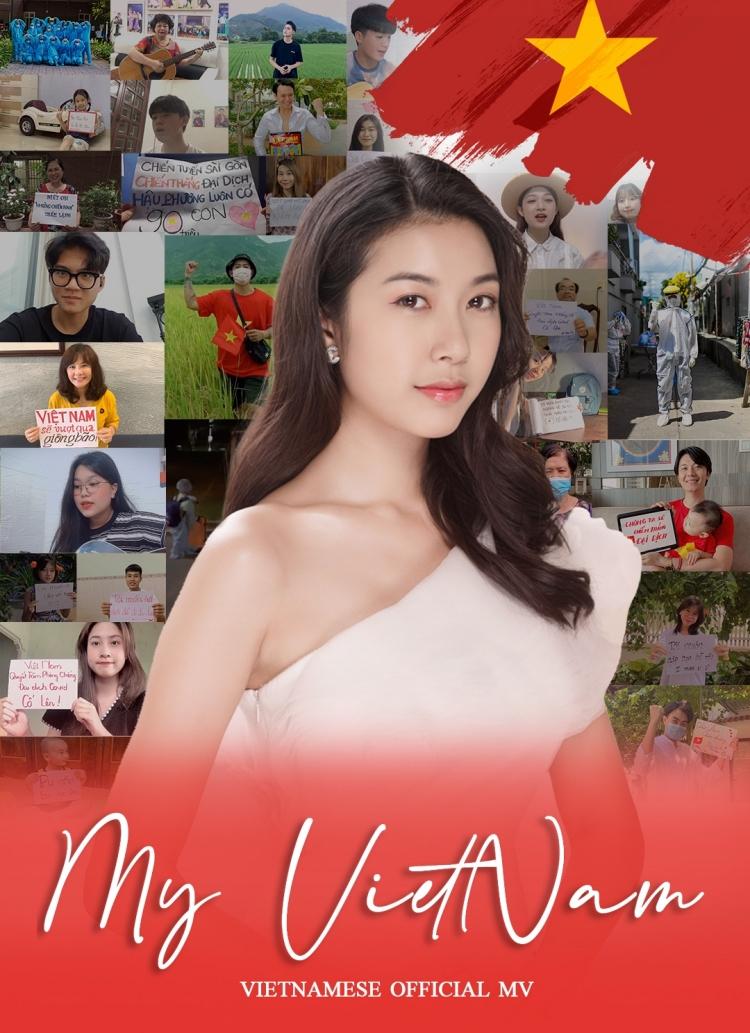 MV My Vietnam phiên bản tiếng Việt ra mắt vào tối 24/7 trên kênh Youtube Thúy Vân.