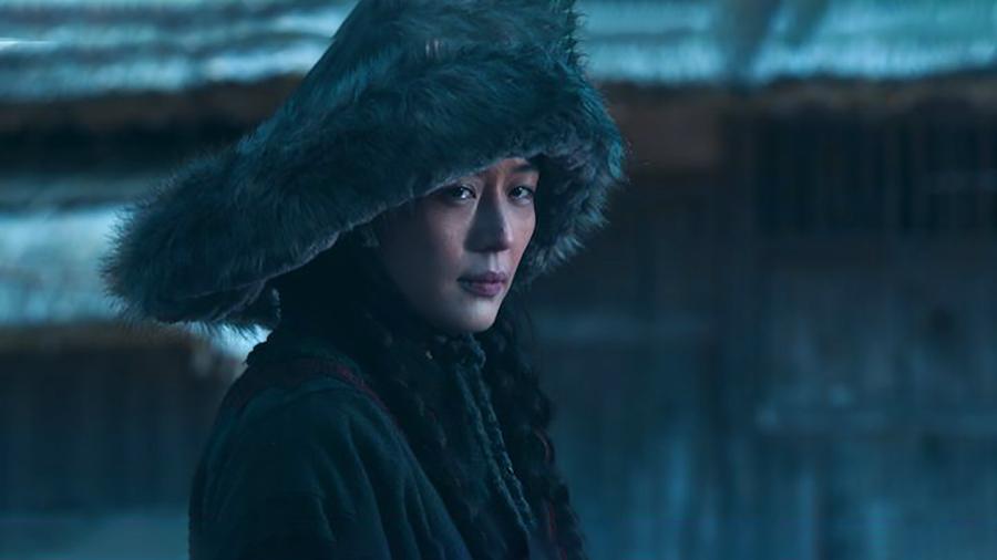 Jeon Ji Hyun trong tạo hình nhân vật của phim. Ảnh: Netflix.