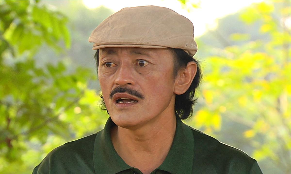 Nghệ sĩ Giang Còi gắn với hình ảnh mộc mạc, chân chất trên phim ảnh và trong cuộc sống. Ảnh: Facebook Lê Hồng Giang.