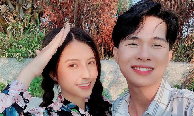 Jack và Thiên An khi đóng chung MV Sóng gió. Ảnh: Facebook Thiên An.