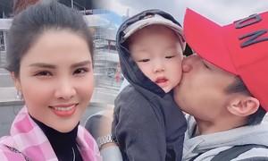 Kỳ Hân: 'Tôi vỡ òa khi gặp lại chồng sau 8 tháng'