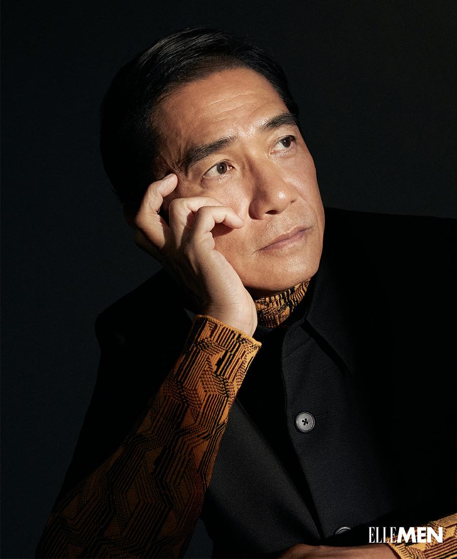 Loạt ảnh tập trung nét mặt, biểu cảm của Lương Triều Vỹ.