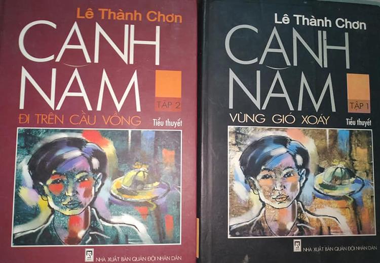 Bộ tiểu thuyết Canh năm của Lê Thành Chơn. Ảnh: Tủ sách cũ