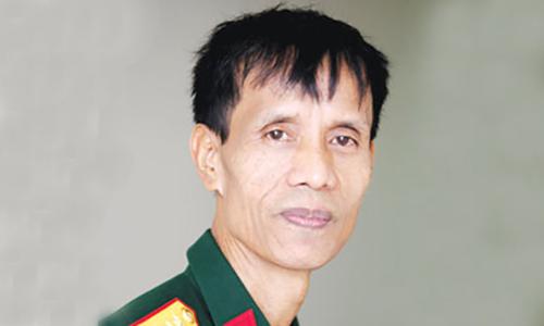 Nhà văn Nguyễn Quốc Trung. Ảnh: VNQĐ