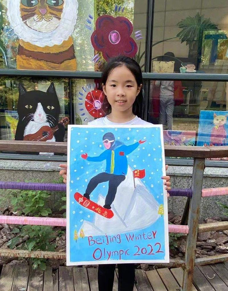Khi không theo đoàn phim, Huỳnh Dịch đưa con gái đi học vẽ, múa ballet. Diễn viên cho biết con là động lực cũng là chỗ dựa tinh thần của cô.