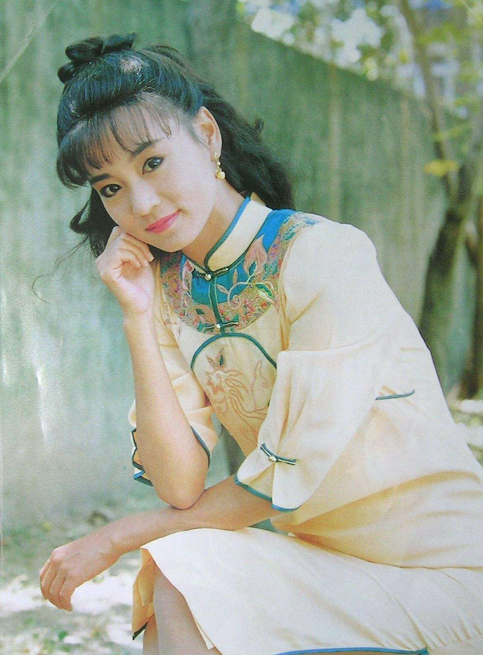 Lưu Tuyết Hoa thời trẻ.
