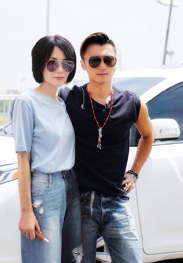 Vương Phi, Tạ Đình Phong từng nhiều lần yêu nhau, chia tay. Họ tái hợp năm 2014. Ảnh: Sina
