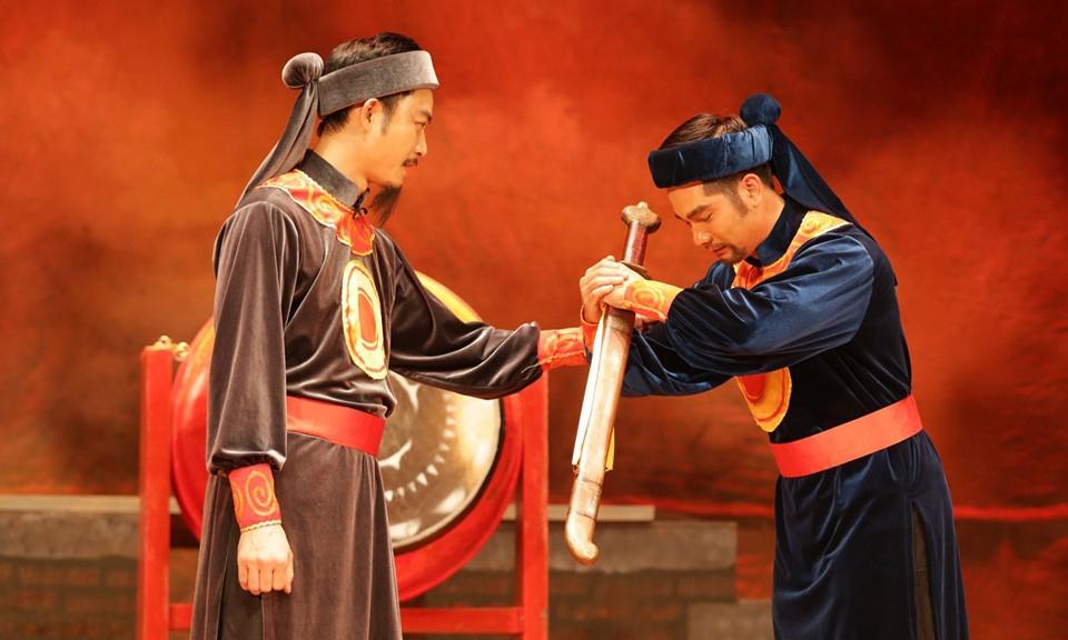 Vở Hà thành chính khí của Nhà hát Kịch Hà Nội là một trong những tác phẩm tham dự liên hoan năm nay. Ảnh: Nhà hát Kịch Hà Nội
