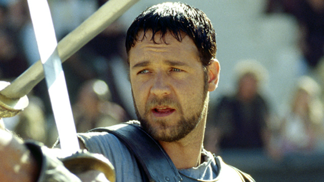 Russell Crowe trong Gladiator (2000). Ảnh: Dreamworks