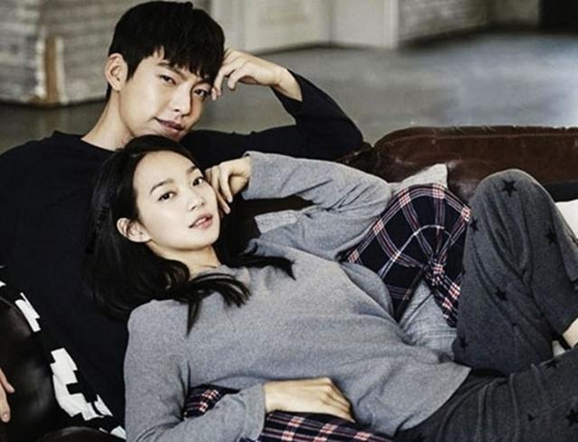 Kim Woo Bin - Shin Min Ah là một trong những cặp tình nhân hàng đầu showbiz xứ Hàn. Ảnh: Giordano