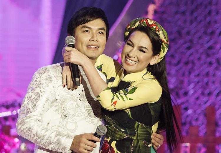 Mạnh Quỳnh, Phi Nhung là một trong những đôi song ca vàng hai thập kỷ qua. Ảnh: Fanpage Phi Nhung