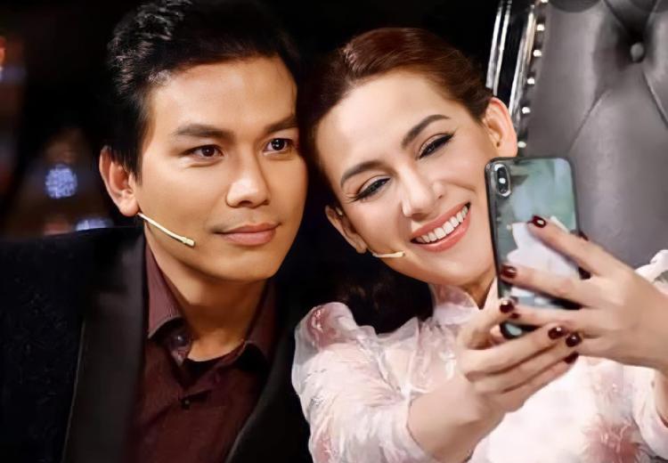Mạnh Quỳnh, Phi Nhung ăn ý trên sân khấu lẫn khi ngồi ghế giám khảo. Ảnh: Facebook Manh Quynh