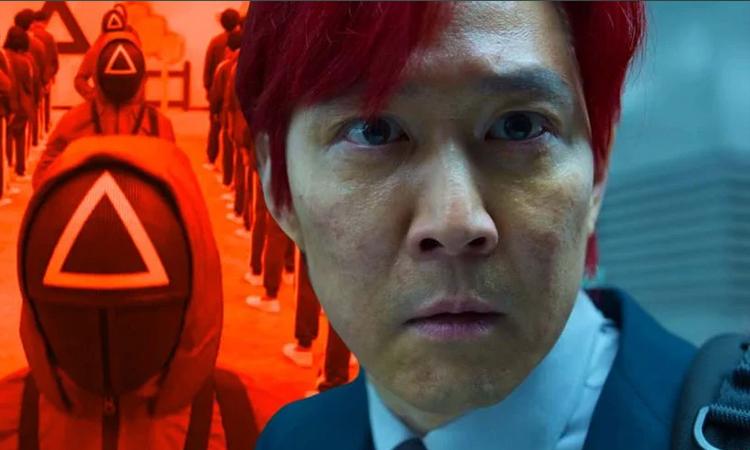 Nhân vật Gi Hun của Lee Jung Jae nhuộm tóc đỏ trong tập cuối Squid Game. Ảnh: Screenrant