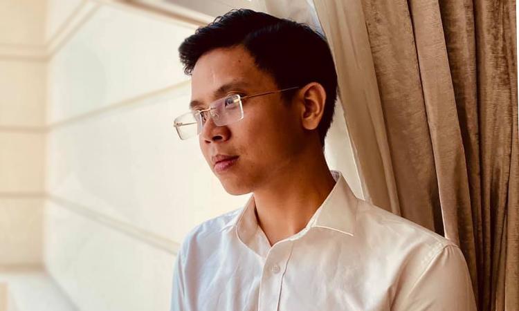 Thái Dương nổi tiếng về chùm ca khúc về Sài Gòn gần đây như Sài Gòn tôi sẽ, Thành phố gì kỳ... Ảnh: Nhân vật cung cấp