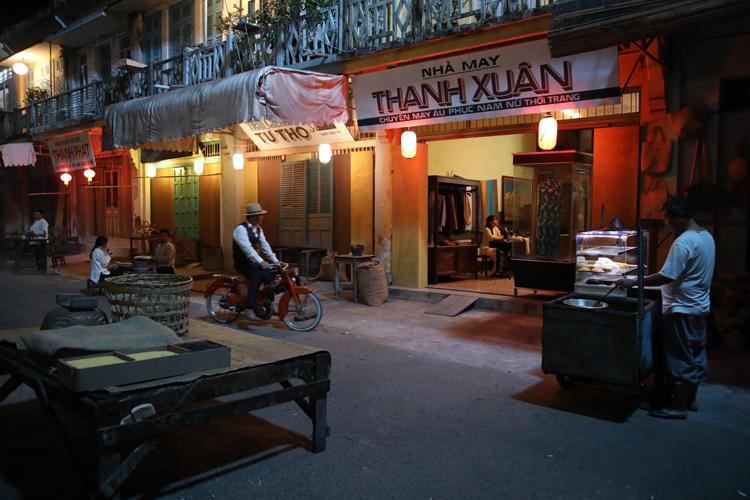 Tiệm nhà may Thanh Xuân - nơi diễn ra nhiều phân đoạn của nhân vật chính. Ảnh: Mia