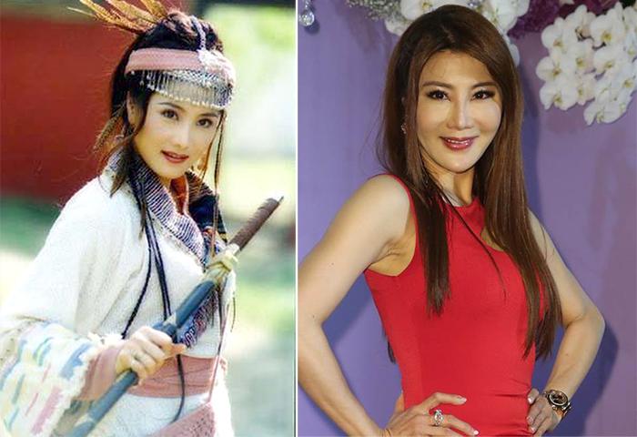 Lệ Thanh nhiều lần bị đồn phẫu thuật thẩm mỹ nhưng cô phủ nhận. Ảnh: Chinatimes