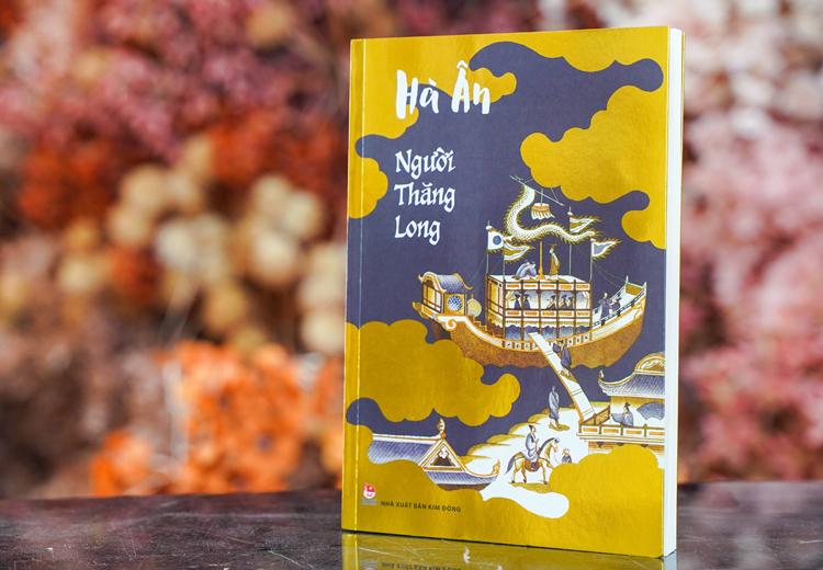 Tác phẩm Người Thăng Long của Hà Ân. Ảnh: Thiên Hương