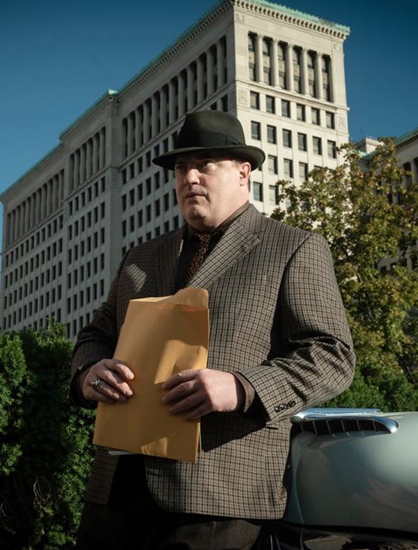 Brendan Fraser trong phim của HBO No Sudden Move phát hành hồi đầu năm. Ảnh: Warner Bros
